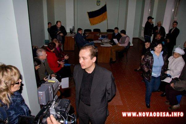 Николаевский окружной административный суд объявил перерыв, чтобы рассортировать протоколы