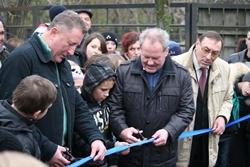 В Николаевском зоопарке торжественно открыли вольеры для такинов