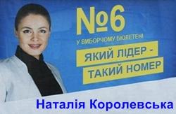 Тушку Наталью Королевскую назначили миниcтpoм coциaльнoй пoлитики