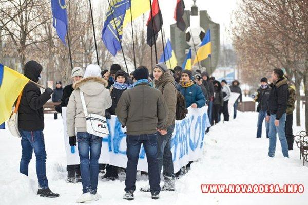 Николаевские общественники провели марш в поддержку семьи Павличенко (Фото)