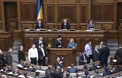 Депутаты в Верховной Раде снова подрались (Видео)