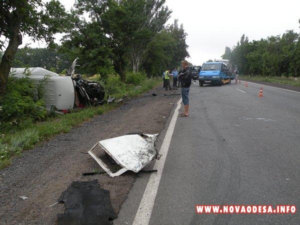 Вчера между Новой Одессой и Вознесенском произошло страшное ДТП (Фото)