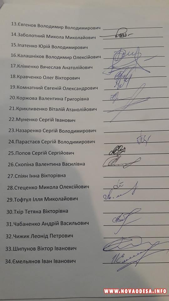 В Новой Одессе законопослушные депутаты решили выразить недоверие пойманному на взятке главе райсовета (Документ)