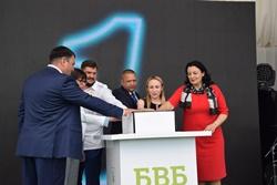 В Новоодесском районе открыли новый зерновой терминал