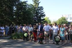 В Новой Одессе почтили память погибших во второй мировой войне