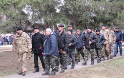 В Новой Одессе почтили участников боевых действий (Фото)