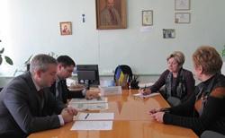 Руководство Новоодесского района провело очередной выездной приём граждан