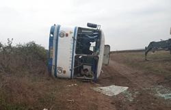 В Новоодесском районе перевернулся пассажирский автобус. Есть пострадавшие (Фото)