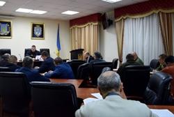 Совет обороны Николаевской области утвердил план мероприятий по внедрению военного положения