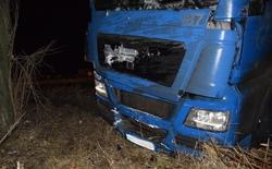 Вчера вечером, в Новоодесском районе перевернулась фура полная кур и перекрыла трассу (Фото)