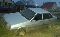 В Новоодесском районе, пьяный мужчина угнал автомобиль, посадил в него свою маленькую дочь и попал в ДТП
