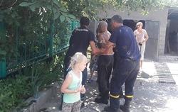 В Новой Одессе спасатели вытащили из выгребной ямы мужчину, которому во время очистки стало плохо (Фото)