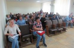 В Новоодесской РГА прошло совещание на котором обсуждались важные для района вопросы
