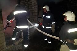 В Новоодесском районе из-за нарушения правил пожарной безопасности сгорела баня (Фото)