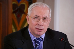 Верховная рада Украины назначила Николая Азарова на пост премьер-министра Украины